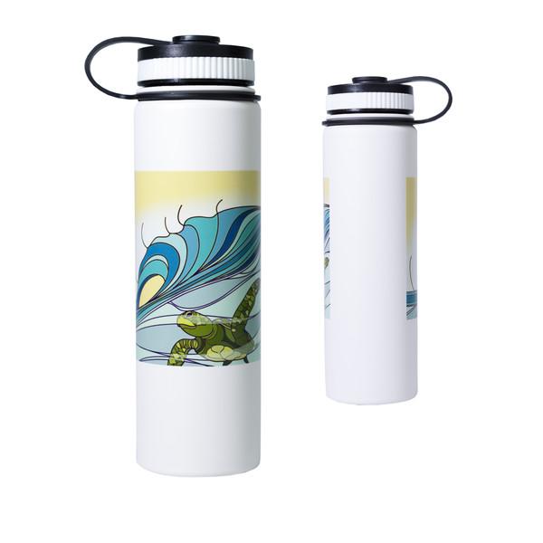 Printed Lifestyle Flasks | Surfing Honu