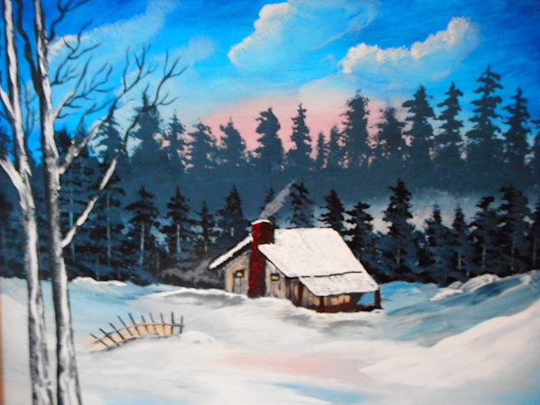 """""""Frosty Morning"""" by Donald Cooper   Prophetics Gallery"""