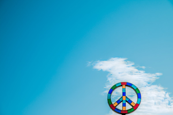 Peace Pie In The Sky Photograph For Sale as Fine Art