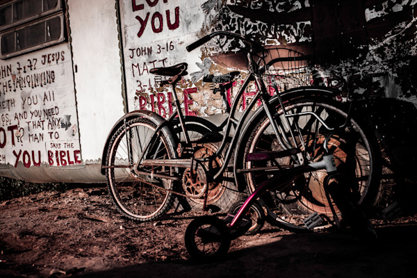 Pedal Power Photograph For Sale as Fine Art