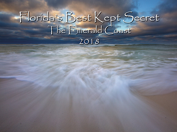 2018 Calendar of the Emerald Coast of Florida