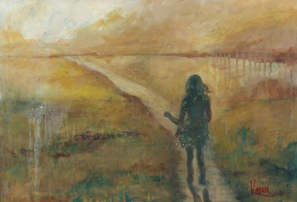 """A Pleasant Path"" by Karen Harkema   Prophetics Gallery"