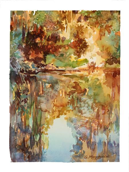 Kingsley | Watercolor Landscapes | Gordon Meggison IV