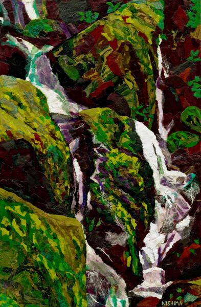 Green Waterfall