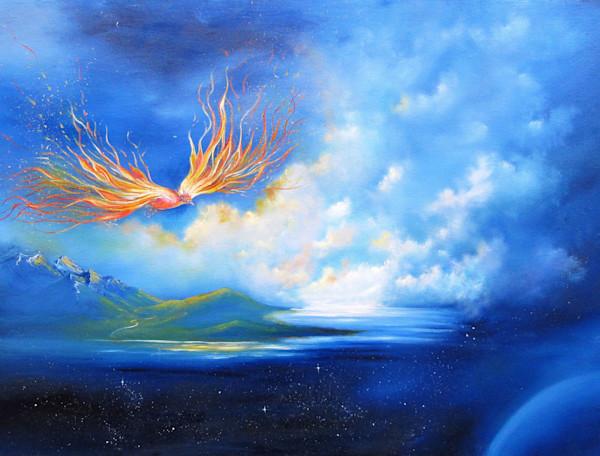 """Fire Bird"" by Anna Sophia | Prophetics Gallery"