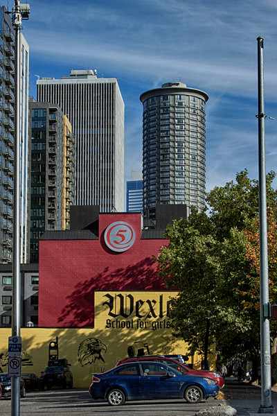 A Fine Art Photograph of Downtown Seattle by Michael Pucciarelli