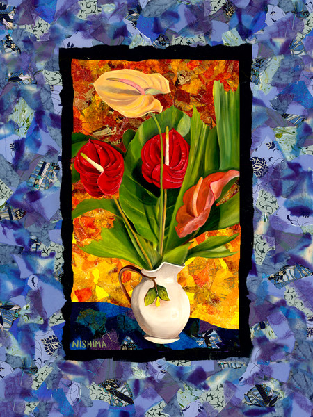 Anthuriums Collage