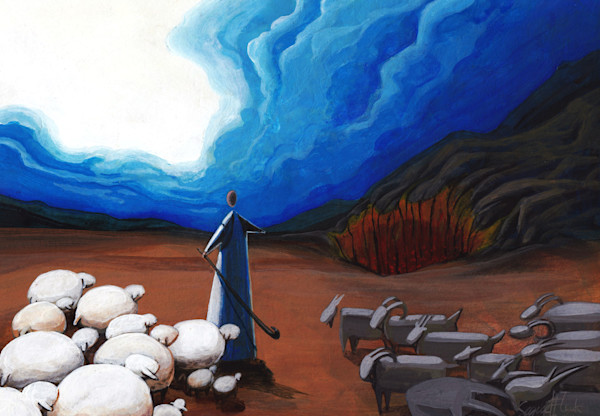 """""""The Good Shepherd - On That Day"""" by Signe Flink 