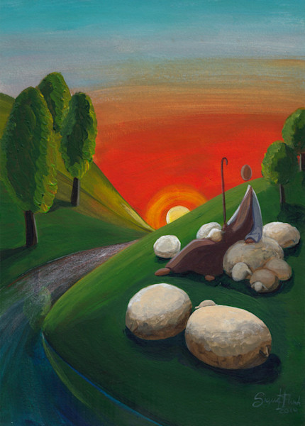 """""""The Good Shepherd - Leads To Water Where We Find Peace"""" by Signe Flink 