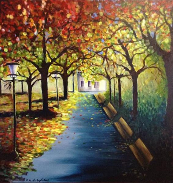 """""""Seasons"""" by Anna Maria Di Guglielmo   Prophetics Gallery"""