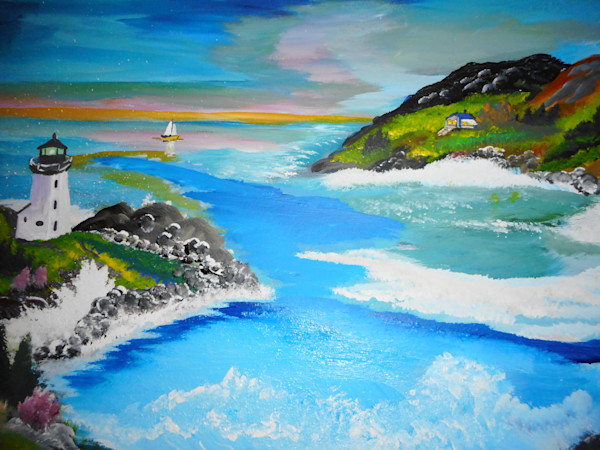 """""""Along The Shore"""" by Donald Cooper   Prophetics Gallery"""