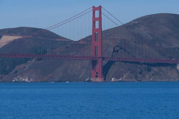 A Fine Art Photograph Of A Sunny Golden Gate Bridge By Michael Pucciarelli