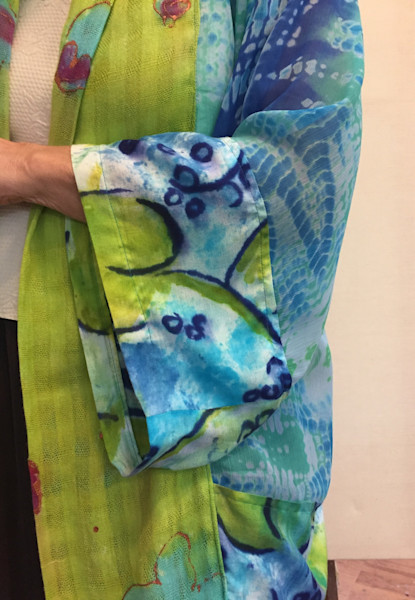 Hydrangea Kimono Jacket Dorothy Fagan Collection