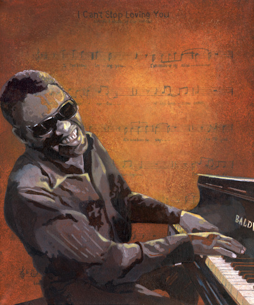 Ray Charles I can t stop loving you