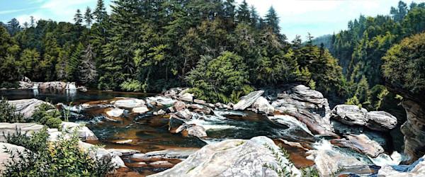 Upper Linville Falls waterfall print | Kevin Grass Fine Art