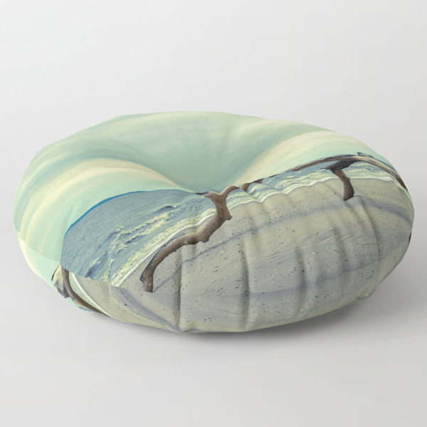 Round and Square Decorative Floor Pillows