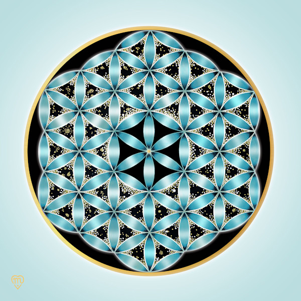 Flower of Life - Turquoise