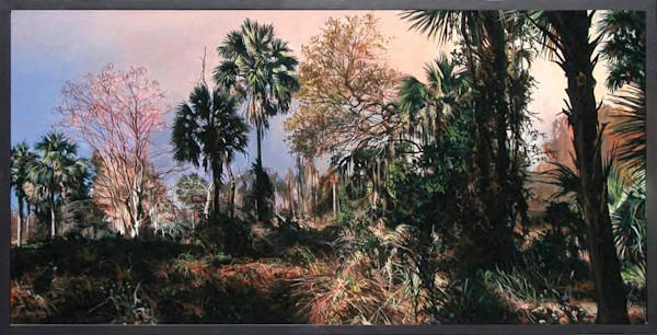 Twilight nature preserve painting | Kevin Grass Fine Art