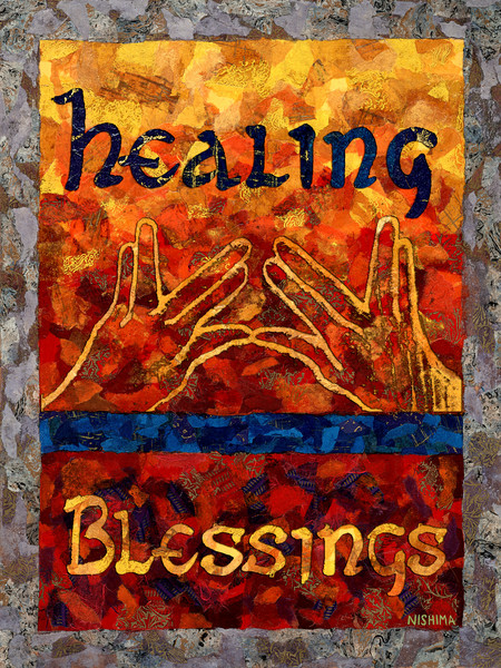 Healing Blessings on Radiant as the Sun
