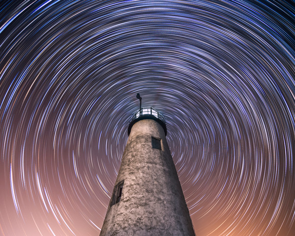 Lighthouses, Coast, Iconic, Beacon, Night, Photographs by Taylor Photography