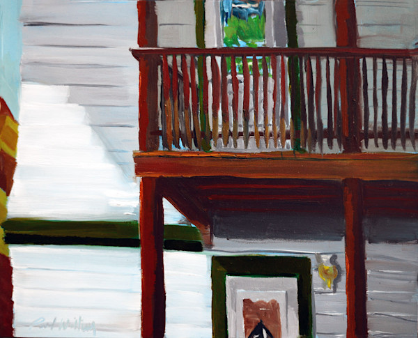 Adams Street Back Deck by Paul William | Fine Art for Sale