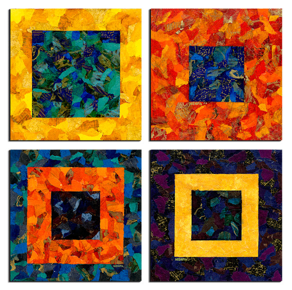 Multi-panel Polyptych Art Walls by Nishima