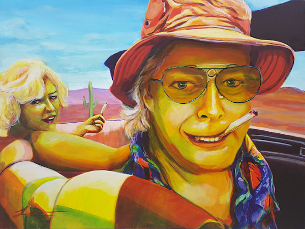 Fear and Loathing in Hollywood? by Michelle Leivan | Kansas Art Gallery