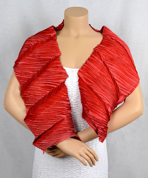 Structured Ripple in Red