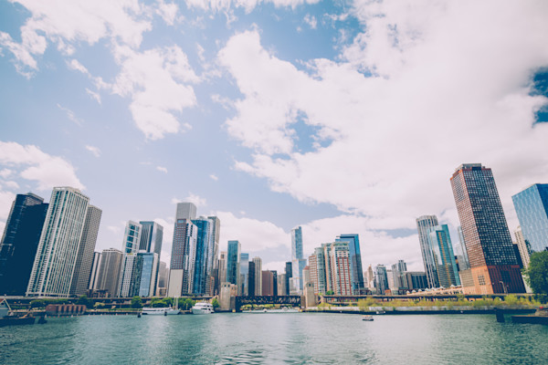 Chicago Skyline Canvas