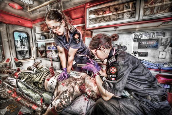 Female EMS