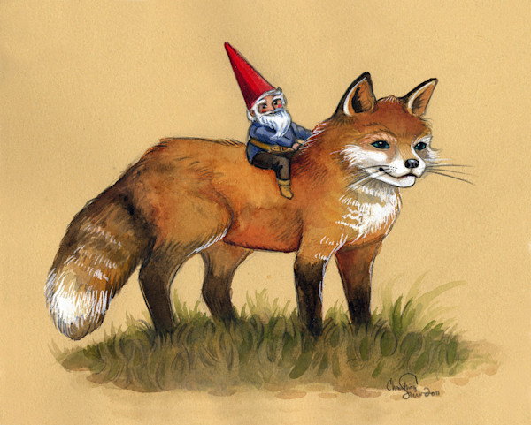 Gnome and Fox