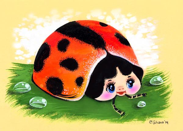 Retro Shoujo Ladybug