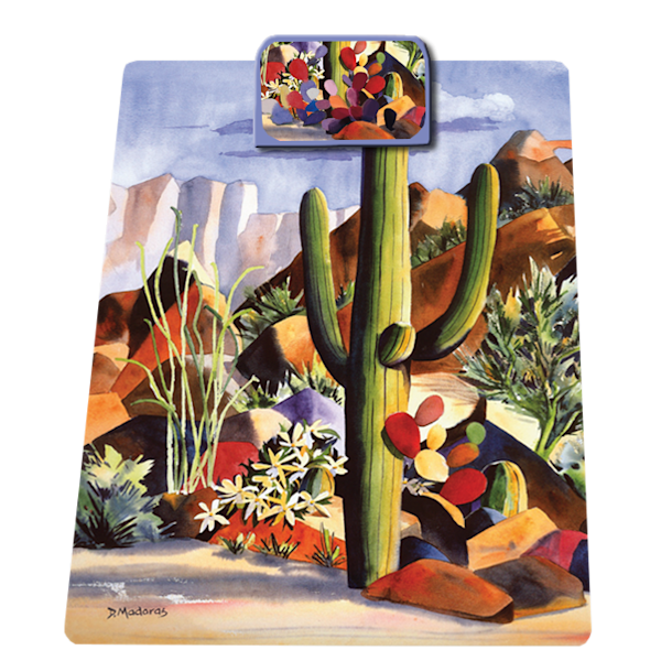 One Purple Rock Clipboard | Southwest Art | Tucson Gallery