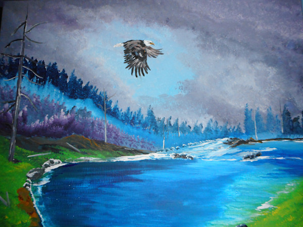 """Eagle Flight"" by Donald Cooper 