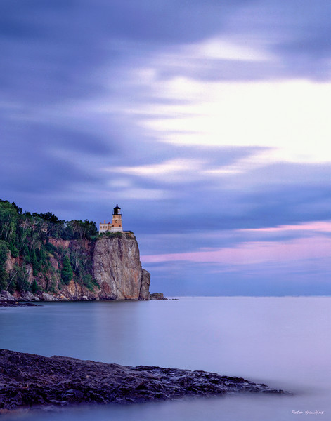 USA, Minnesota, Two Harbors, Split Rock Lighthouse