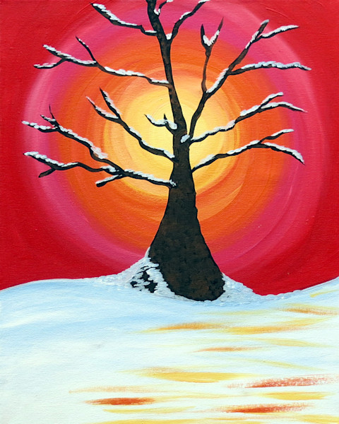 Snow Tree Art for Sale