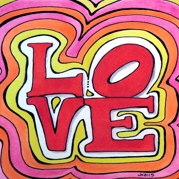 Funky Love Art for Sale