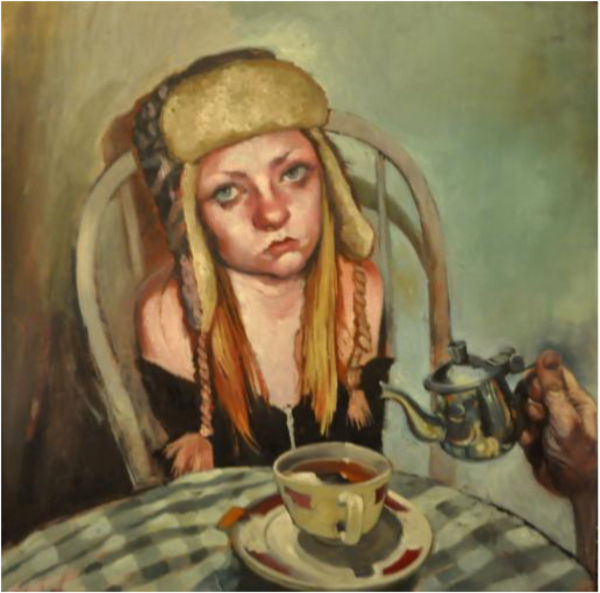 Shop for original paintings like More?, oil on canvas by Jude Harzer at Matt McLeod Fine Art Gallery.