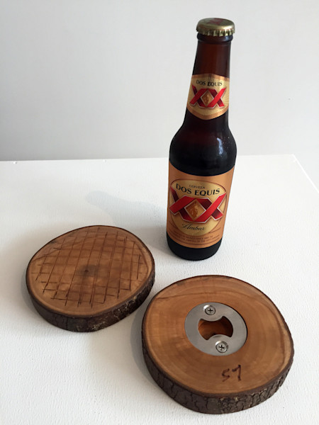 Shop for original Wood-Works like the Stump Bottle Opener, by Jude Harzer at Matt McLeod Fine Art Gallery.