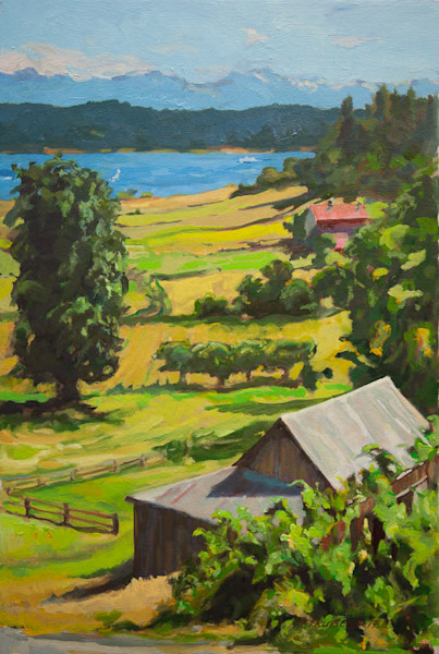 Orcas Island Farms, Early July