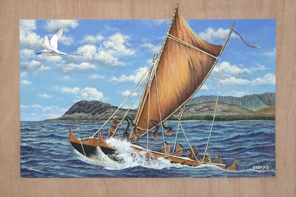 Wood Postcards | Voyaging Canoe