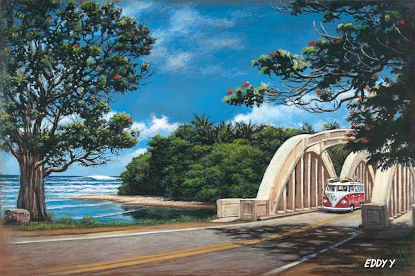 Wood Postcards | Haleiwa Bridge