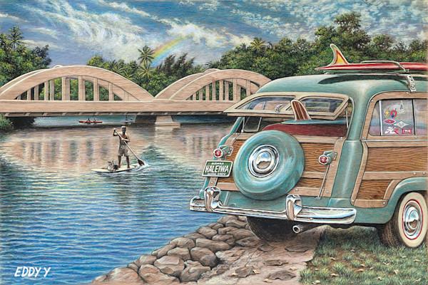 Wood Postcards | Haleiwa Woody