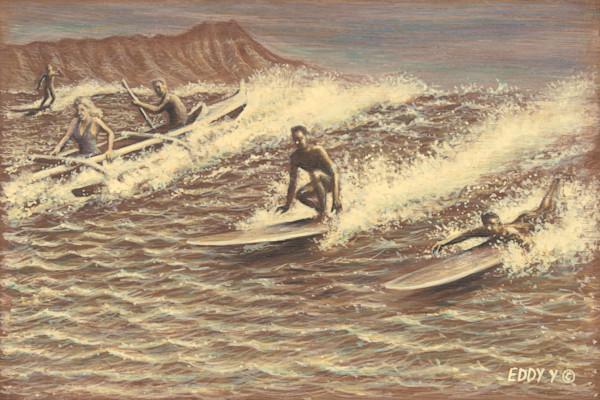 Wood Postcards | Surf Break