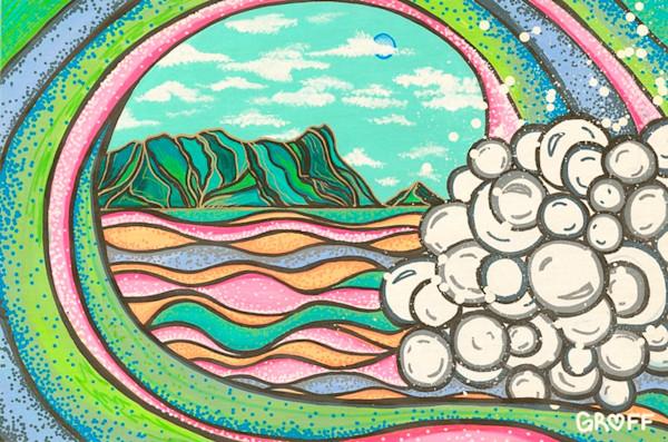 Birchwood Postcards | Diamond Head Rainbow