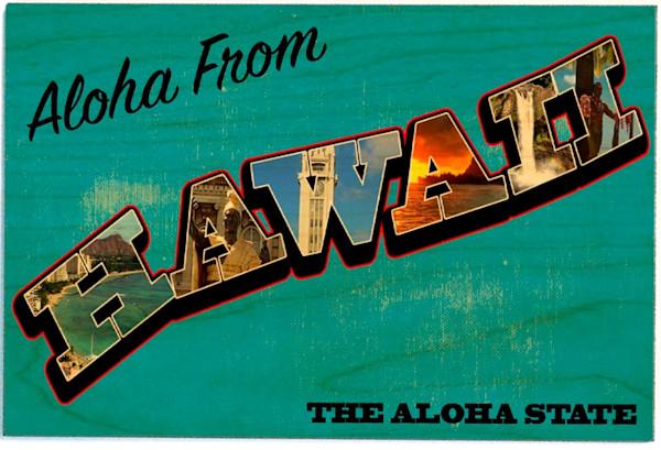 Birchwood Postcards | The Aloha State