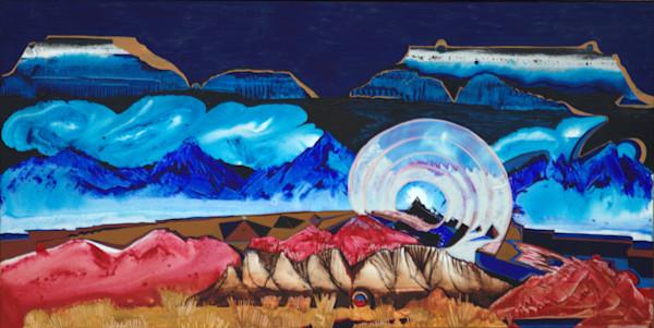 Chimney Rock visionary western landscape art prints