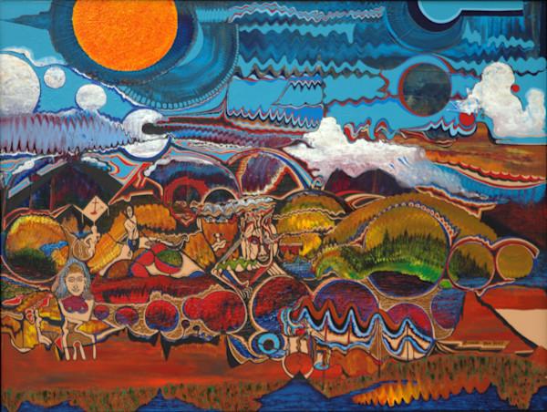 Puma Hills visionary landscape prints of psychedelia