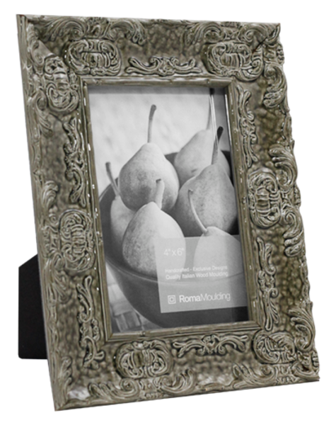 4x6 Electric Grey Photo Frame