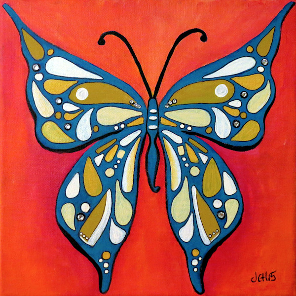 Funky Butterfly Art for Sale